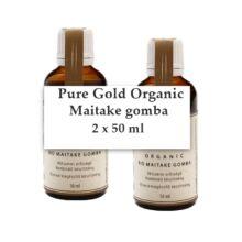 Pure Gold Organic BIO Maitake gomba folyékony kivonat 2x50 ml