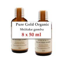 Pure Gold Organic BIO Shiitake gomba folyékony kivonat 8x50 ml